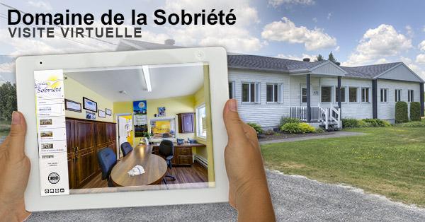 Visite virtuelle en 360 degrés du Domaine de la Sobriété