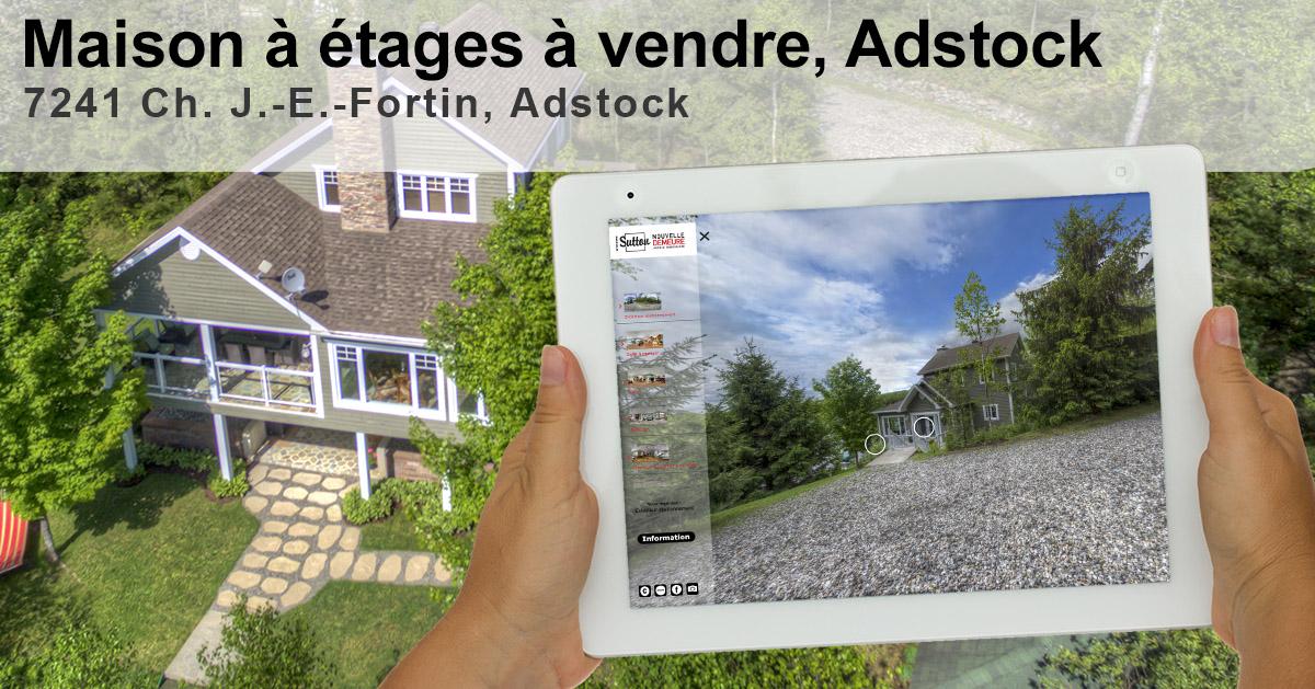 Visite virtuelle 7241 chemin J.-E.-Fortin, Adstock