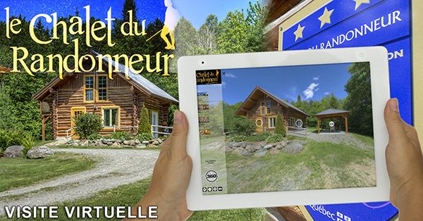 Visite virtuelle 360 degrés du Chalet du Randonneur